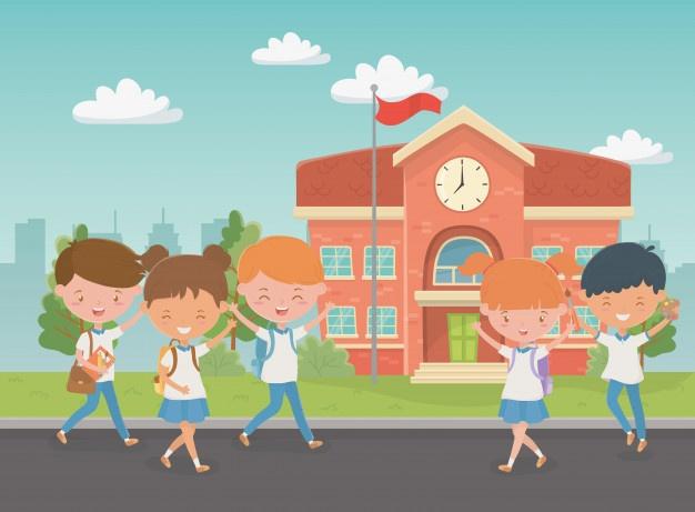 school-building-with-kids-scene_24640-46316