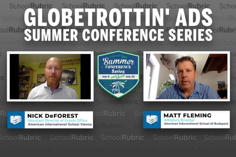 Globetrottin' ADs Summer Conference Series - Nick De Forest & Matt Fleming