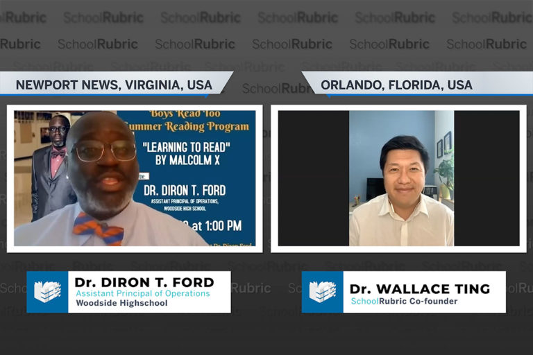 """""""Using Curriculum to Give Students Voice"""" - Dr. Diron Ford"""