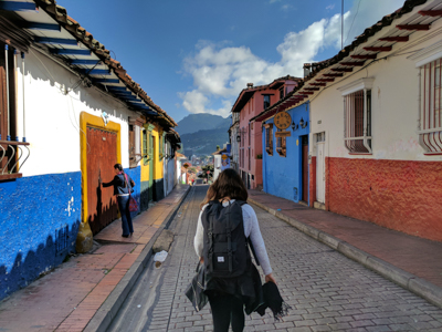 La Candelaria district, Bogotá, Colombia.