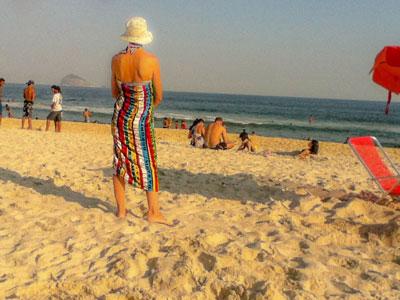 Another day on the beach in Barra da Tijuca, Rio de Janeiro, Brazil.