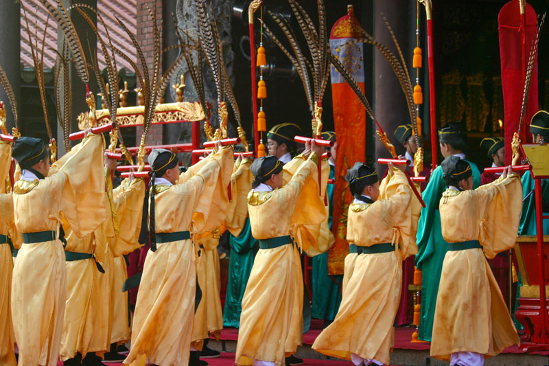 """Taipei,Taiwan: Confucius Day Ceremonies - there's no way we would have known about this event if not for the invitation we received from an """"insider."""""""