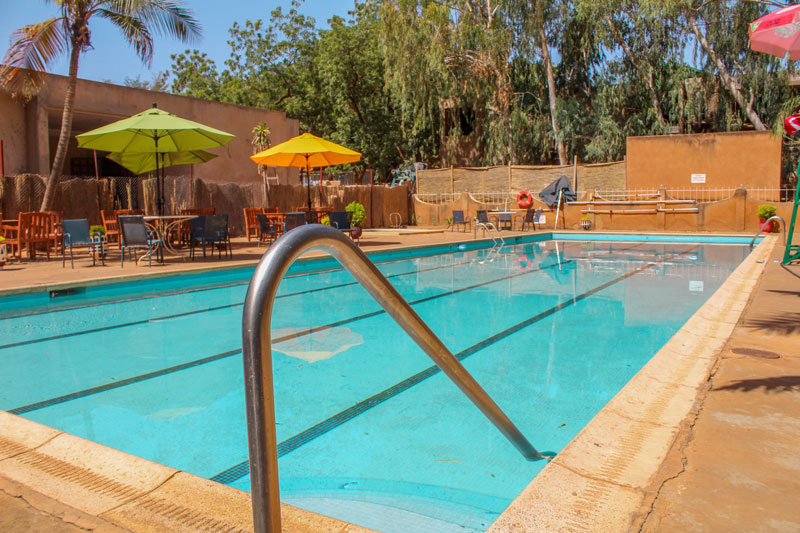 The AISN pool, one of the many facilities used off hours by various community members and local organizations.