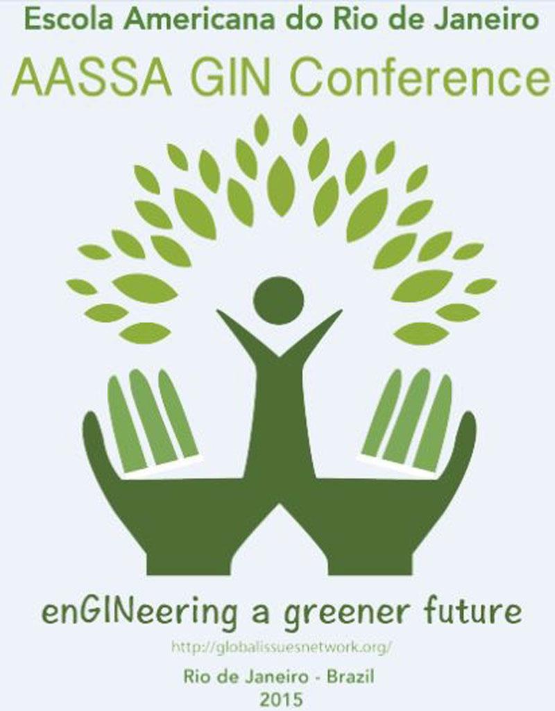 Rio GIN conference official logo.