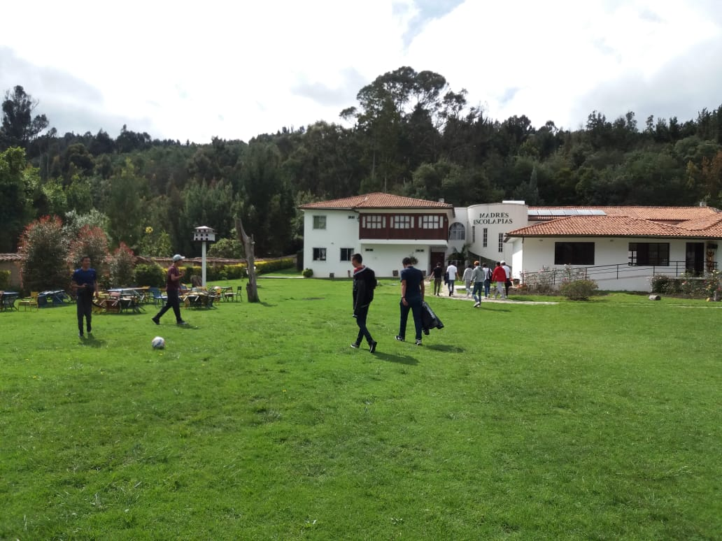 """Our convivencia activity took place at a local """"finca,"""" very secluded and surrounded by nature."""