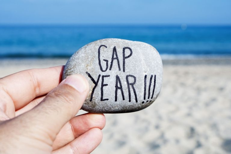 What is the purpose of a gap year? What compels a student to take time off after graduating from high school to self-reflect, reorient, and recharge?