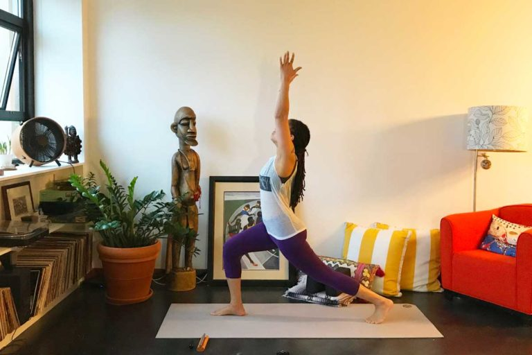 Below I will share with you the story of how in one week I turned my home into an online yoga studio in an effort to do my part in helping the teachers of this country find solace in this time of great fear and uncertainty.