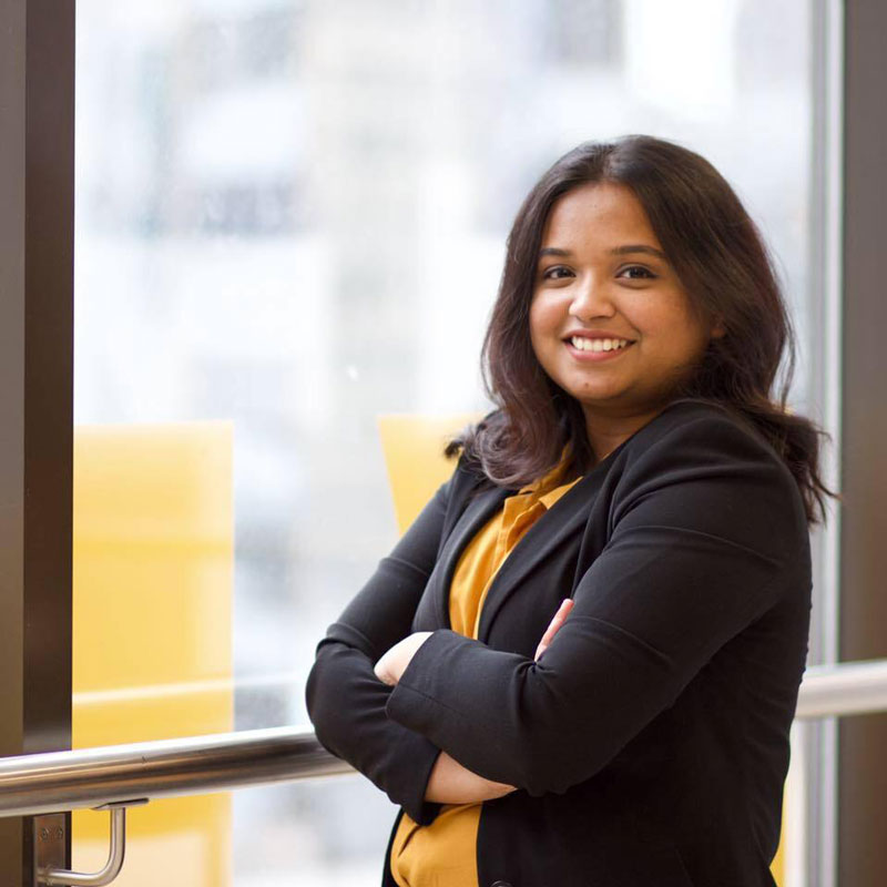 Akshara George, Project Manager of Net+, Enactus Ryerson