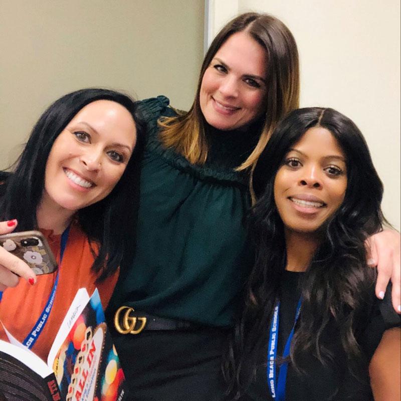 My K-5 Instructional Coach Team: (from left to right) Christine Lamarca, Lauren Kaufman & Natasha Nurse.
