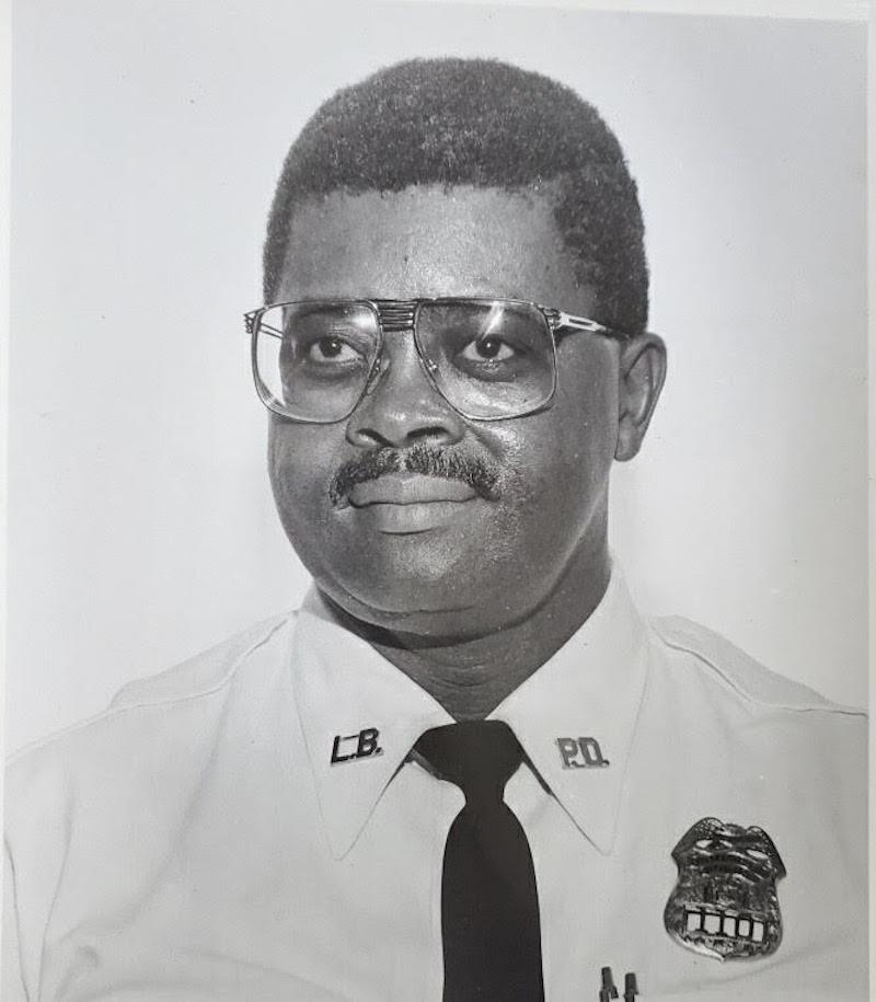 My dad, Officer Alonzo Merkerson Sr.
