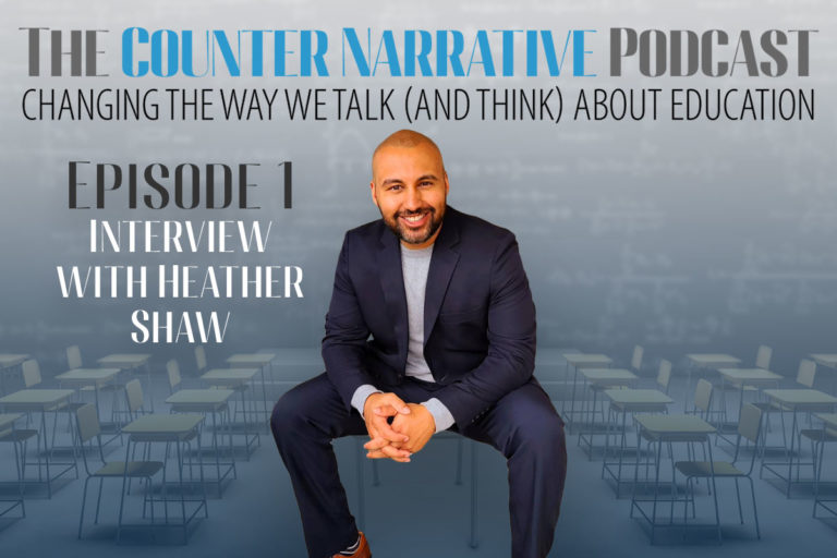The Counter Narrative Podcast E1: Interview with Heather Shaw